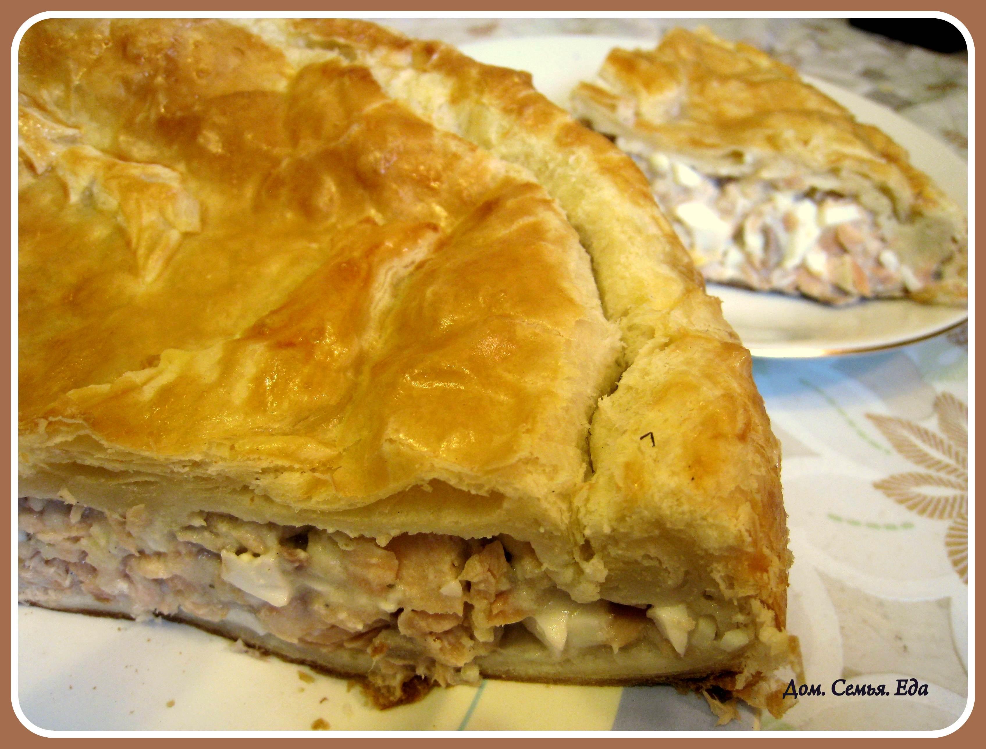 Открытый пирог из судака рецепты пошагово