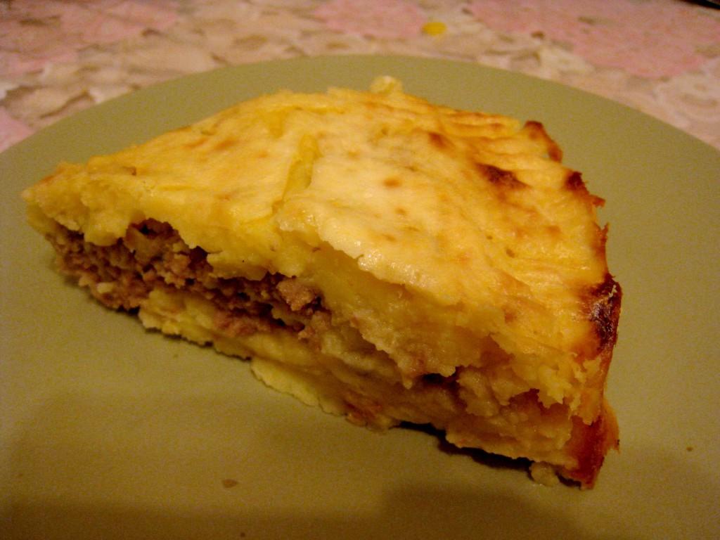 Запеканка из картофельного пюре в духовке рецепт